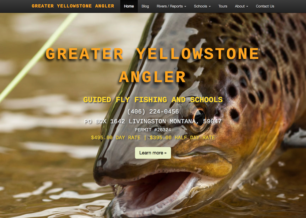 Greater Yellowstone Angler