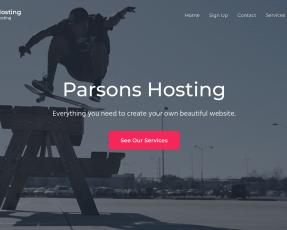 Parsons Hosting